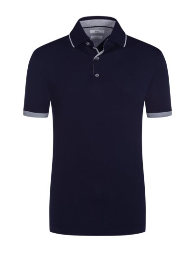 Polo shirt in Hi-Flex fabric v MARINE