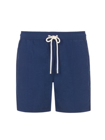 Swimming trunks made of recycled PU, plain v MARINE