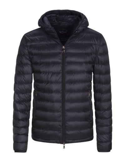 Light down jacket with removable hood v MARINE