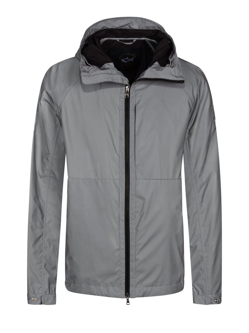 Paul & Shark Blouson jacket with reflector, water-repellent GREY in plus size