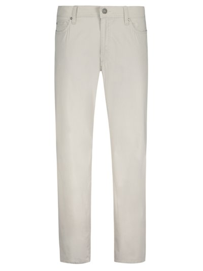 Five-pocket trousers with micro pattern, Cadiz U v PUTTY