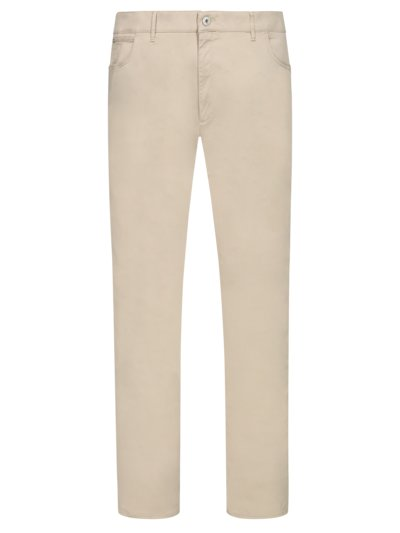 Five-pocket trousers in Hi-Flex fabric, Chuck v BEIGE