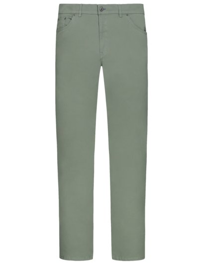Five-pocket trousers with stretch, Cooper Fancy v GREEN