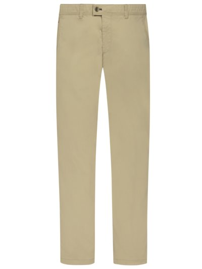 Chino mit Stretchanteil, Jim S in BEIGE