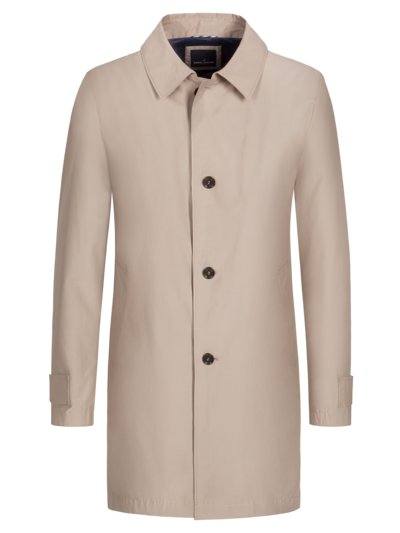 Casual coat v BEIGE