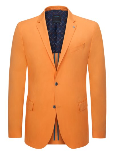 Blazer in Future-Flex fabric v ORANGE