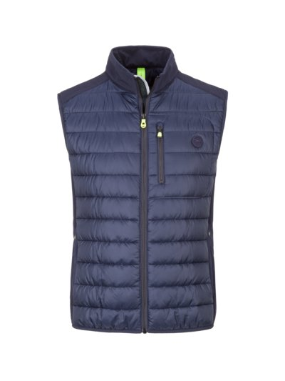 Quilted gilet, BRX Lab v BLUE
