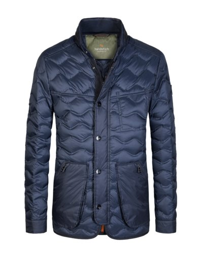 Steppjacke in MARINE