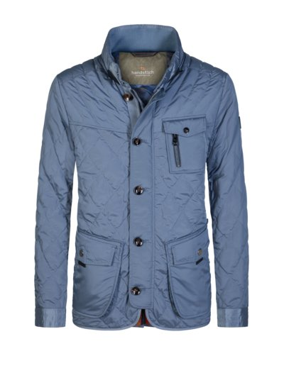 Steppjacke in HELLBLAU