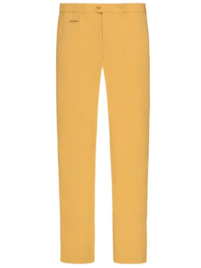 Chinos with stretch content, Everest v YELLOW