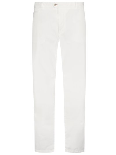 Chinos with stylish front crease, Everest v WHITE