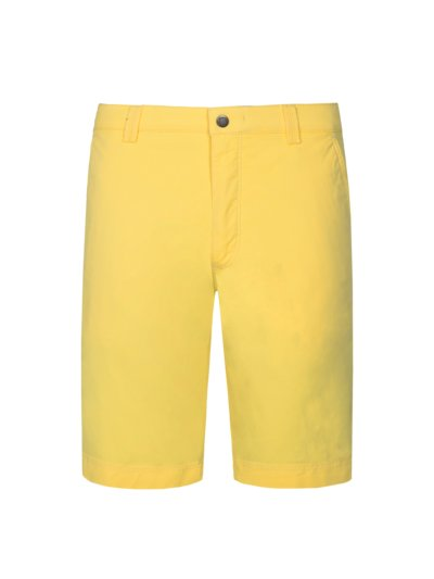 Bermuda shorts with stretch content, B-Palma v YELLOW