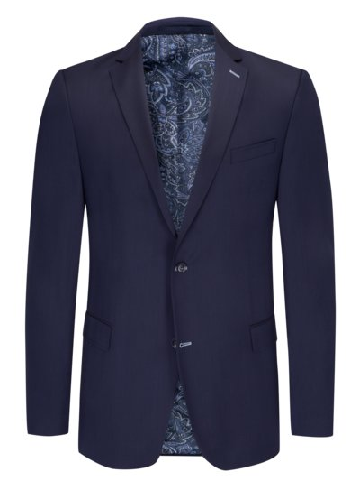 Sport coat made of 100% virgin wool v BLUE