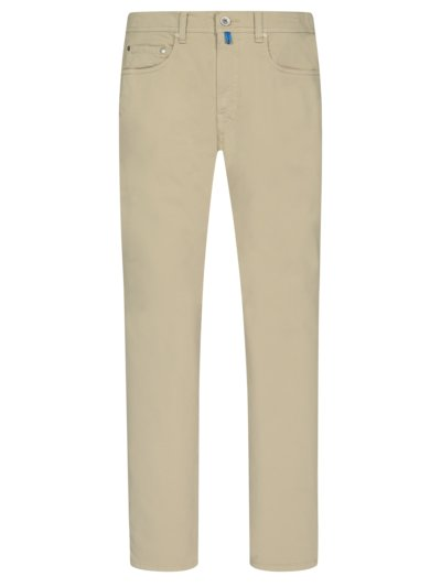 Future Flex five-pocket cotton trousers, Lyon v BEIGE