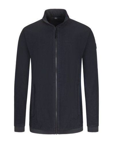 Strick-Sweatjacke in MARINE