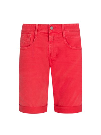 Modische Jeans-Shorts in ROT