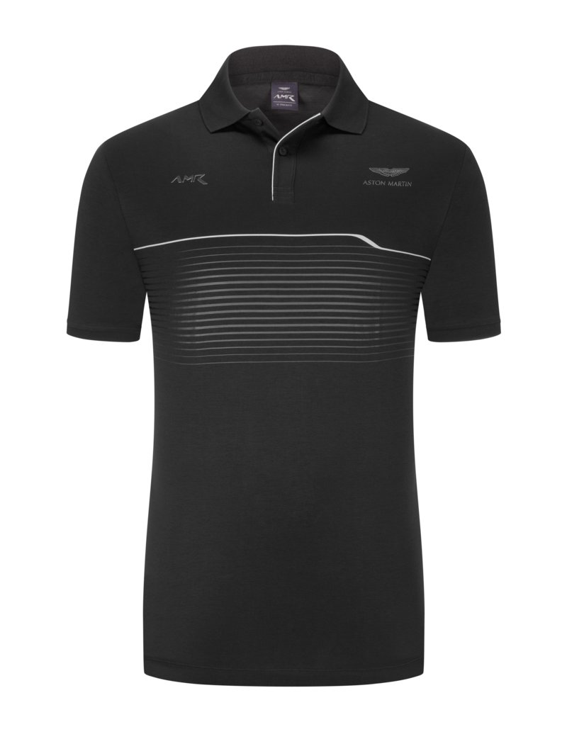 Hackett Polo shirt, Aston Martin Collection BLACK in plus size