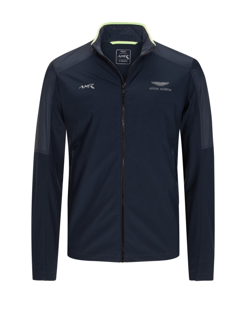 Hackett Casual softshell jacket, Aston Martin Collection MARINE in plus size