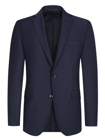 Suit separates jacket in 24/7 Flex fabric v BLUE