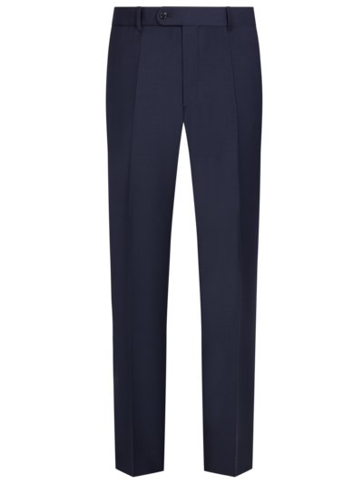 Business trousers in 24/7 Flex fabric v MARINE
