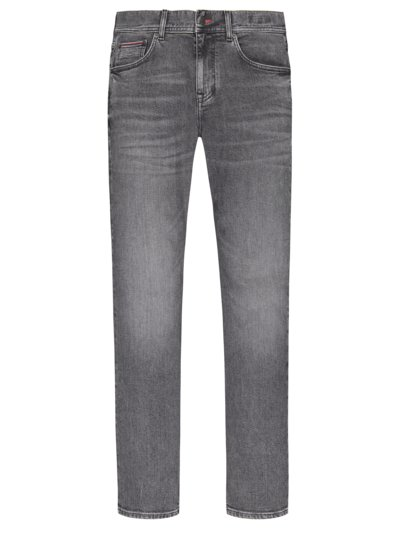 Modische 5-Pocket Jeans, Bleecker in GRAU
