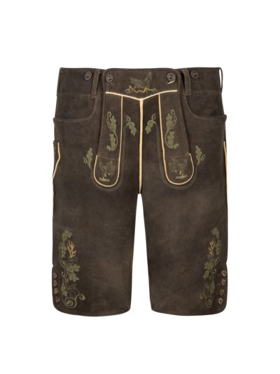 High-quality lederhosen v BROWN