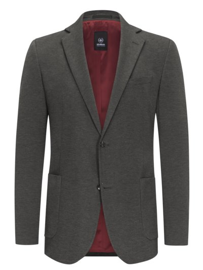 - Suit separates suit in jersey fabric v GREY