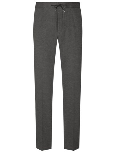 Businesshose im Joggpant-Look in GRAU