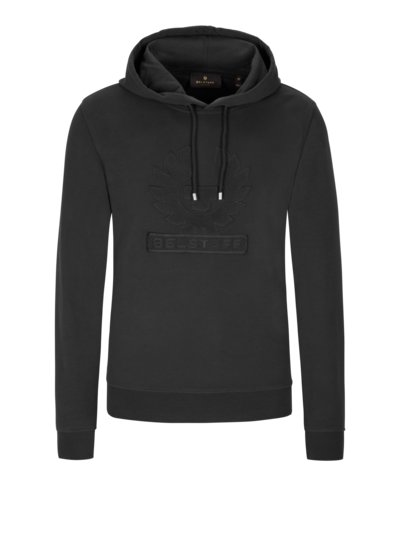 Sweatshirt with hood v BLACK