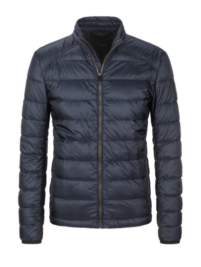 Lightweight down jacket, with all-weather protection v BLUE
