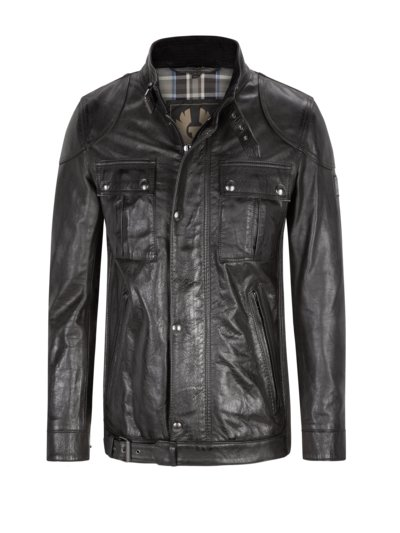 Leather jacket, Gangster v BLACK