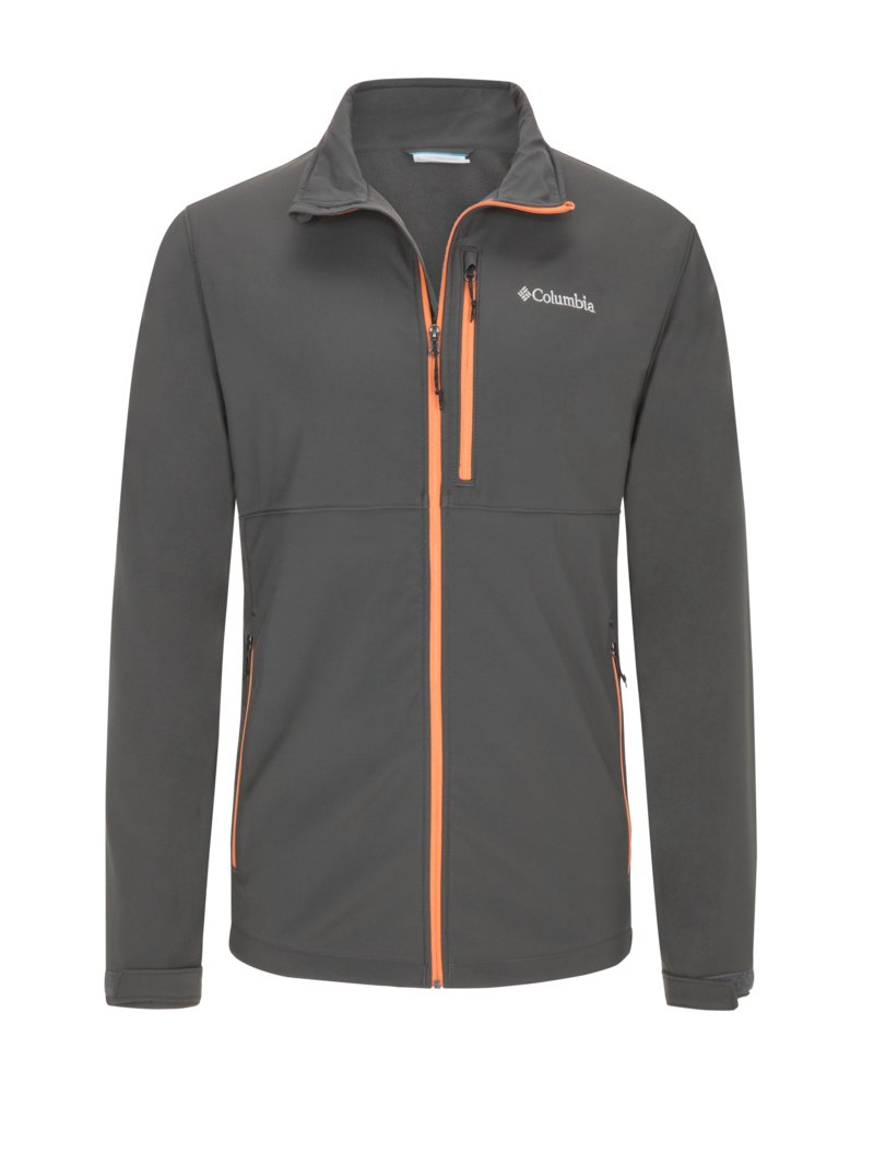 Columbia Comfortable softshell jacket ANTHRACITE in plus size