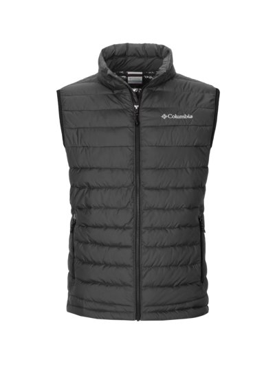 Trekking gilet with Omni-Heat v BLACK