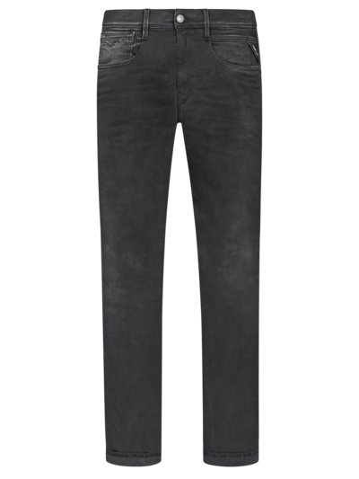 Jeans in Hyperflex fabric, Anbass v ANTHRACITE
