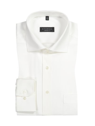 Shirt, opaque and non-iron, Comfort Fit v OFF WHITE