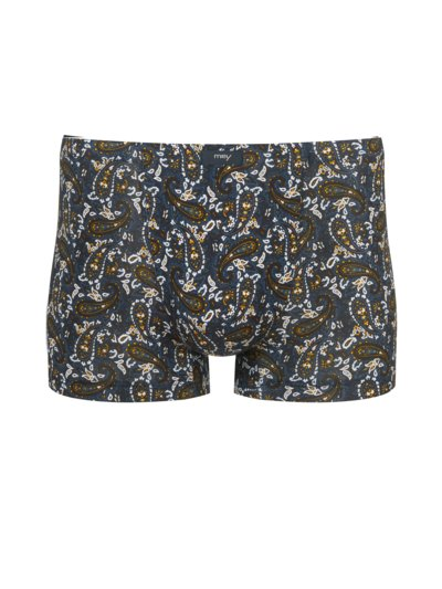 Boxer-Trunk mit Paisley-Muster in BLAU