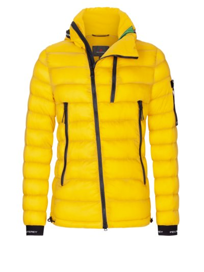 Trendy quilted jacket with Primaloft lining v YELLOW