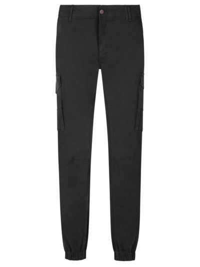 Cargo trousers with stretch v BLACK