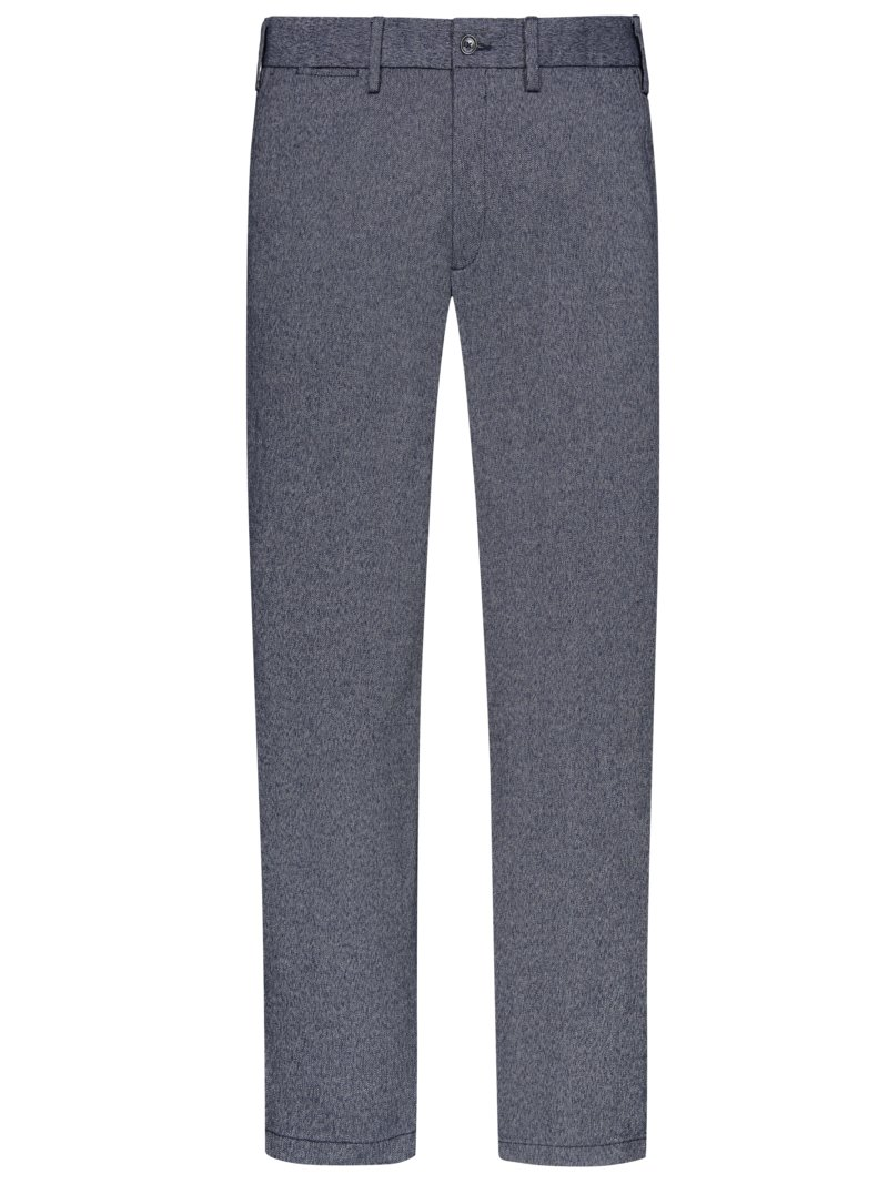 Tommy Hilfiger Chinos with micro texture and stretch BLUE in plus size