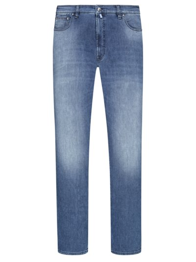 Jeans with stretch content v LIGHT BLUE