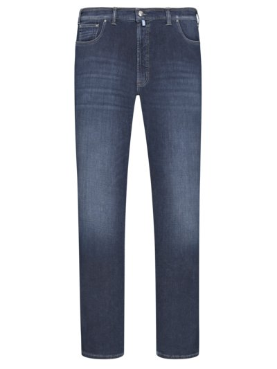 Jeans with stretch content v BLUE