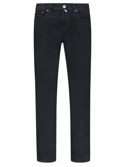 Jeans with stretch content v BLACK
