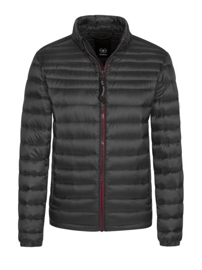 Lightweight quilted jacket v BLACK