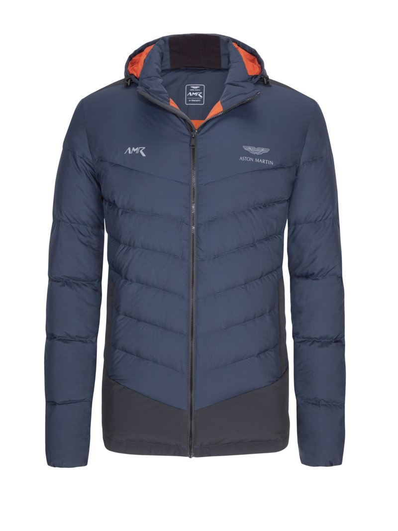 Hackett Lightweight casual jacket, Aston Martin Racing BLUE in plus size