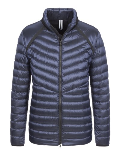 Down jacket with glossy effect v MARINE