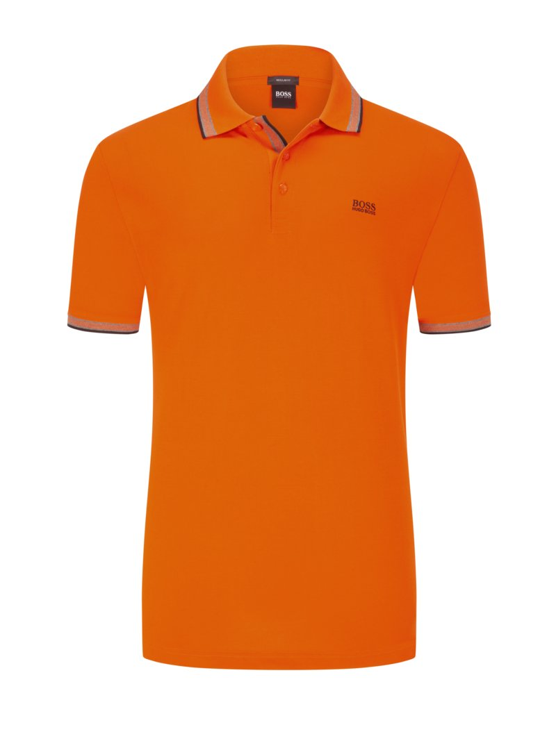 Boss Poloshirt, Paddy ORANGE in Übergröße
