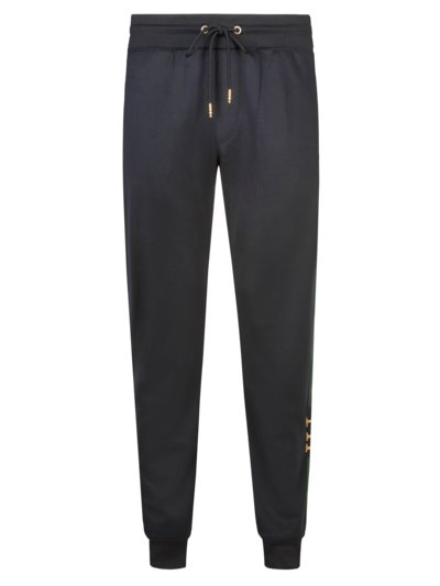 Jogging bottoms with contrasting stripes v MARINE