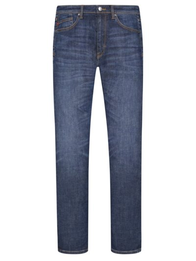 5-Pocket Jeans mit Stretchanteil, York in BLAU