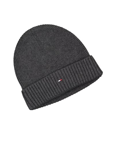 Cap with cashmere content v BLACK