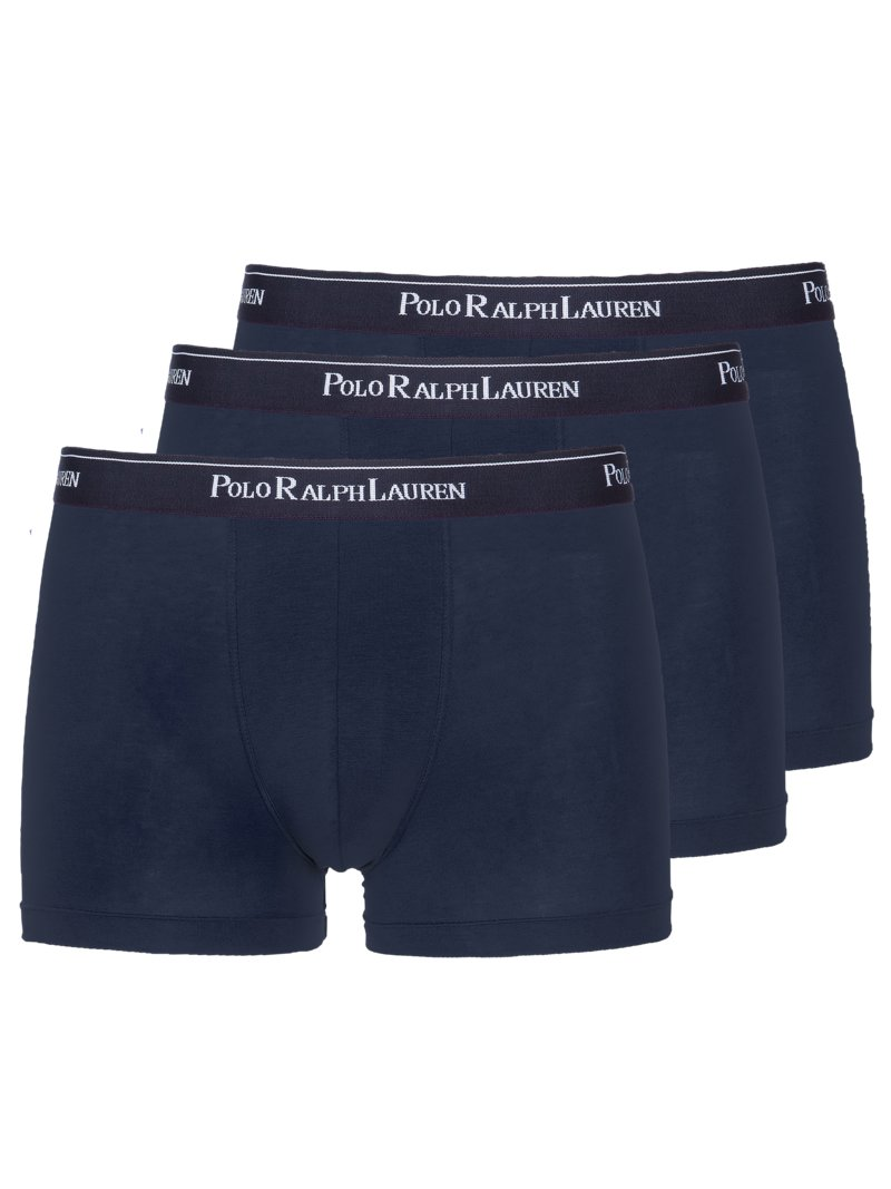 Polo Ralph Lauren Pack of 3 boxer trunks with stretch content GREY in plus size